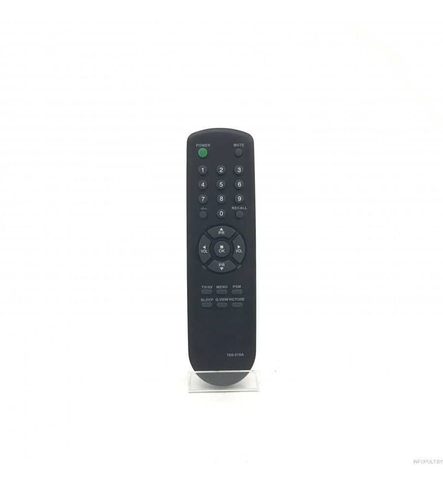 Пульт Goldstar 105-210A (105-230A) ic