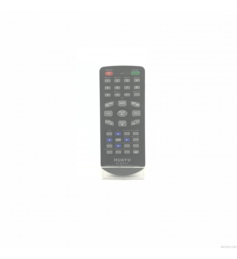 Huayu CAR RC-820J+C Ver. 2017 TV , DVD , Projector