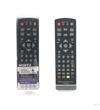 Пульт Huayu DVB T2+2
