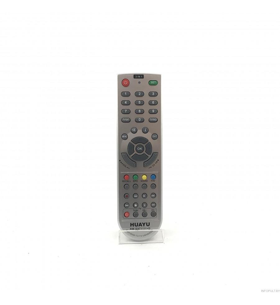 Пульт Huayu для SAT1111+B для SAT и TV Bigsat/Giobo HOF-44C