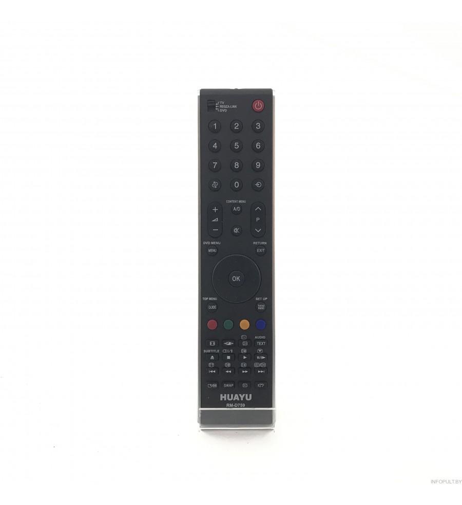 Пульт Huayu для Toshiba RM-759, CT-90288
