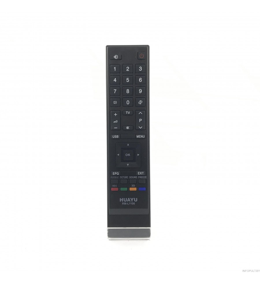 Пульт Huayu для Toshiba RM-L1106 LSD LED 3D TV