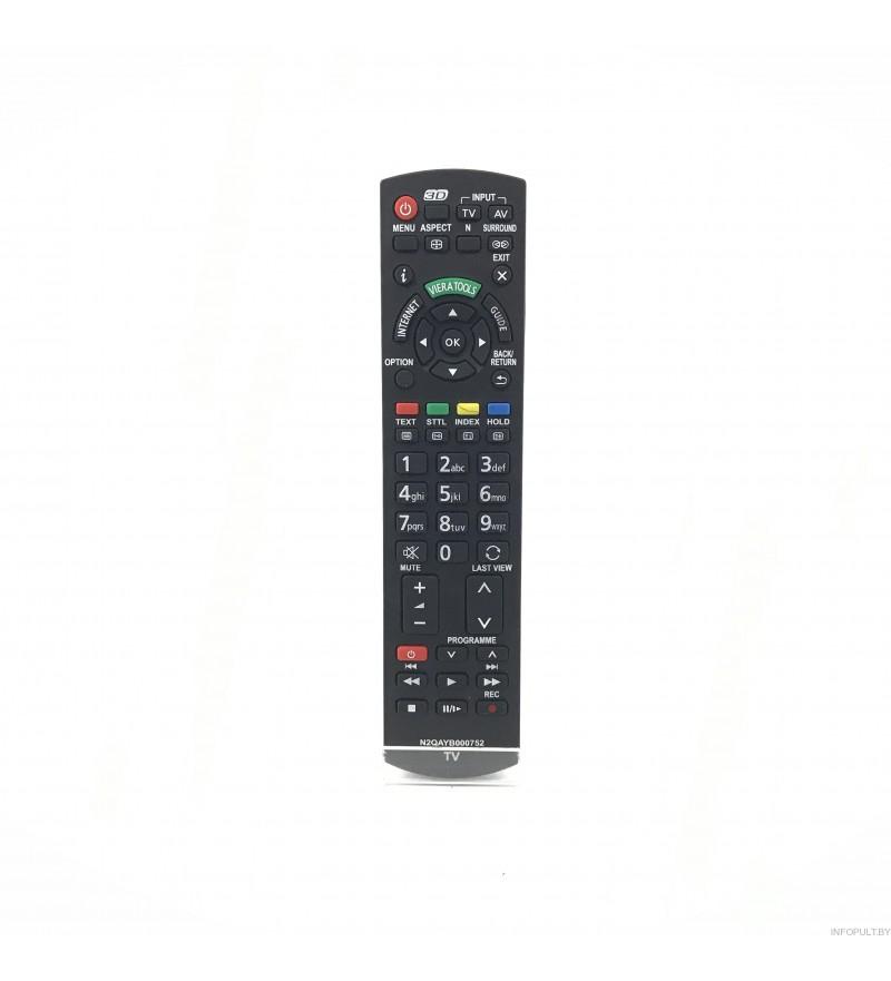 Пульт Panasonic N2QAYB000752 ic VIERA 3D LED LCD TV