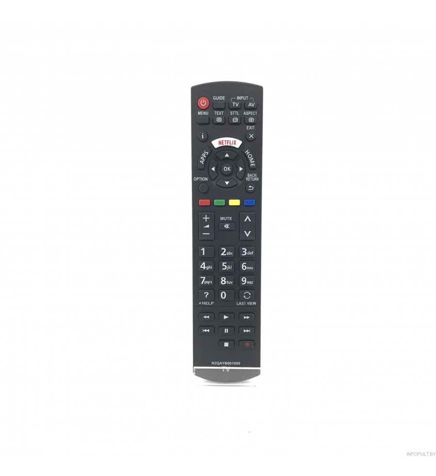 Пульт Panasonic N2QAYB001009 ic LCD LED TV NETFLIX