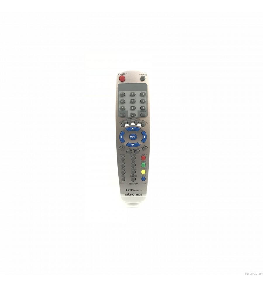 Пульт Sitronics LCD TV2 LSD-1502/1701/Hitachi CLE-961