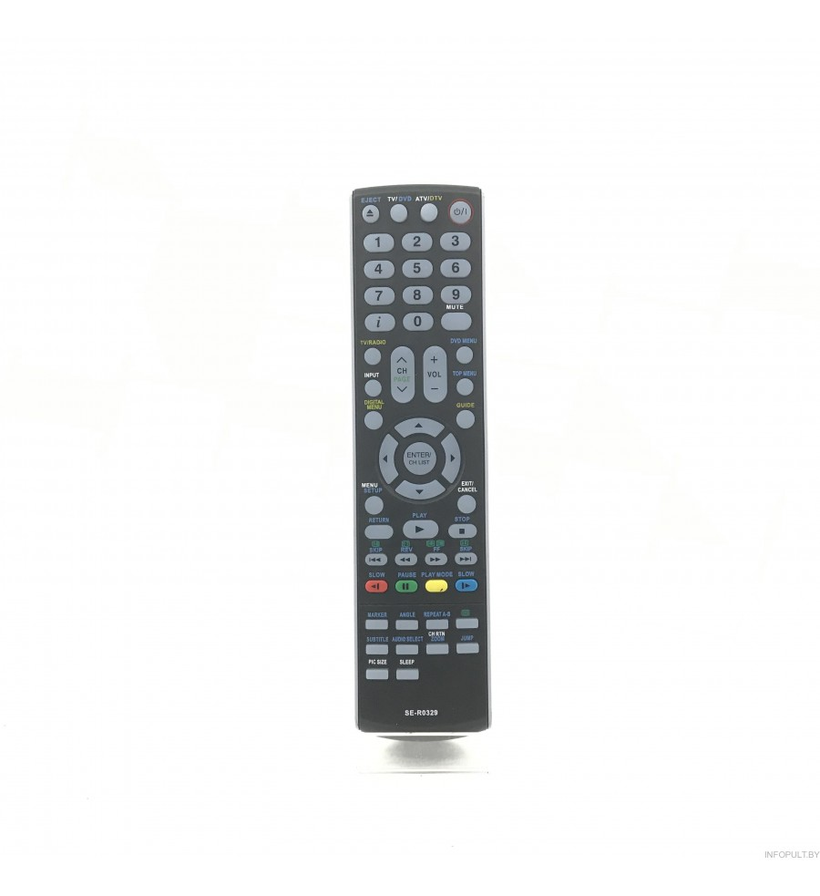 Пульт Toshiba SE-R329 LCD TV + DVD ic