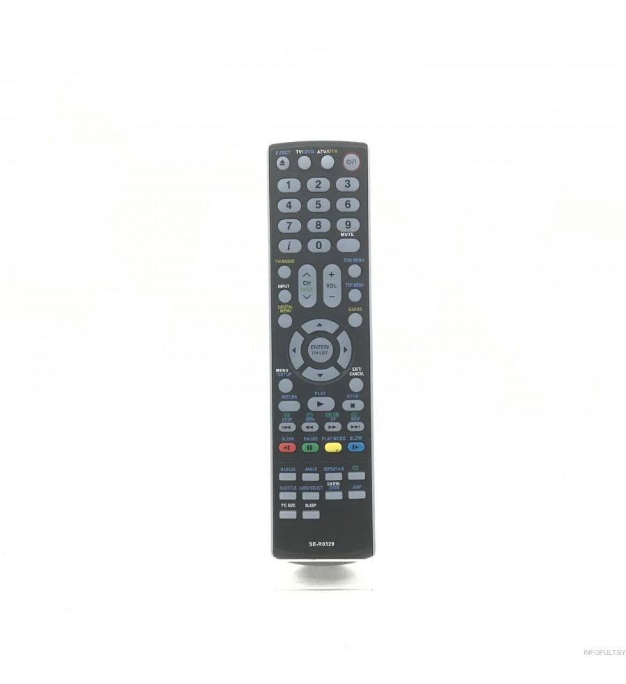 Пульт Toshiba SE-R329 LCD TV + DVD ic