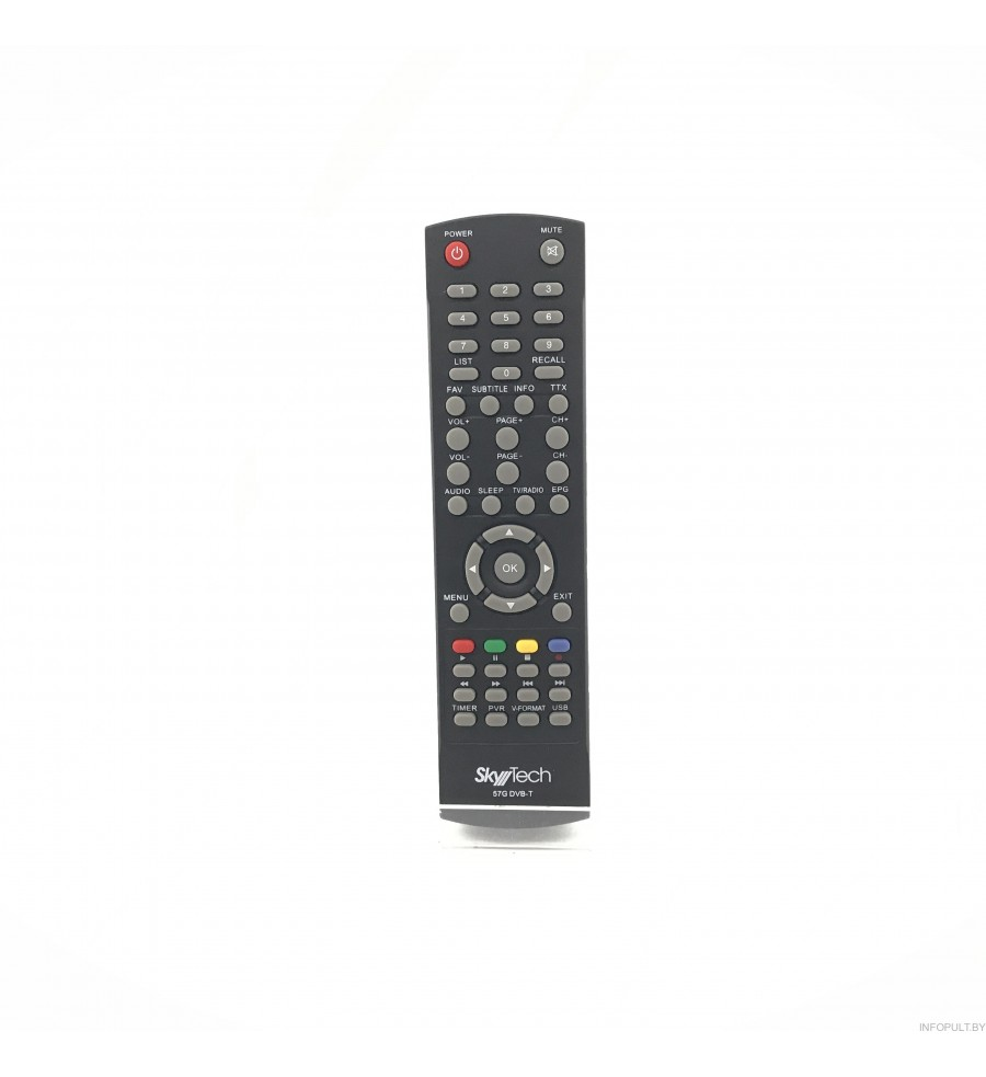 Пульт для SkyTech/(GoldMaster) 57G DVB-T ic DVB-T2