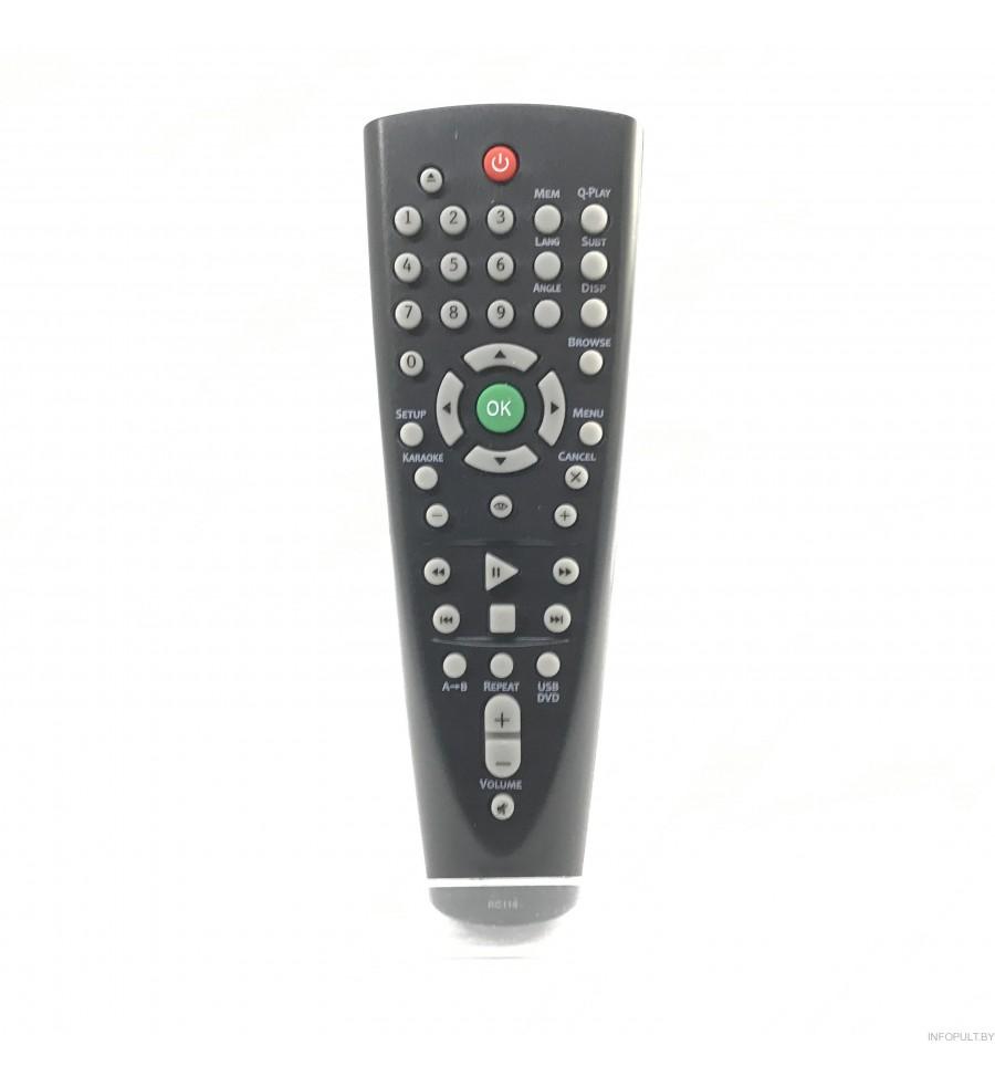 Пульт BBK RC116 DVD ic