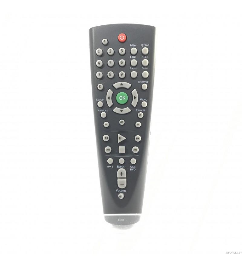 Пульт BBK RC118 DVD ic