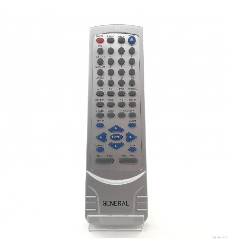 Пульт General JX-2008B ERISSON DVD 1130 ic