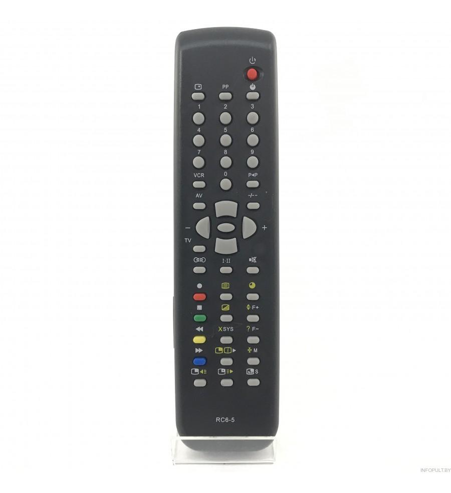 Пульт Горизонт RC-6-5 [TV] c T.T RC5-6