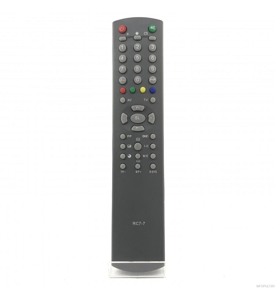 Пульт Горизонт RC-7-7 [TV] cT