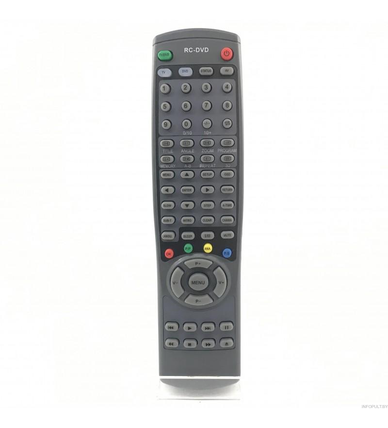 Sitronics / Horizont RC-DVD ic STC-2109F / SAGA TVD-2143PF