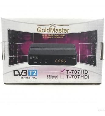 Ресивер GoldMaster 707 HD