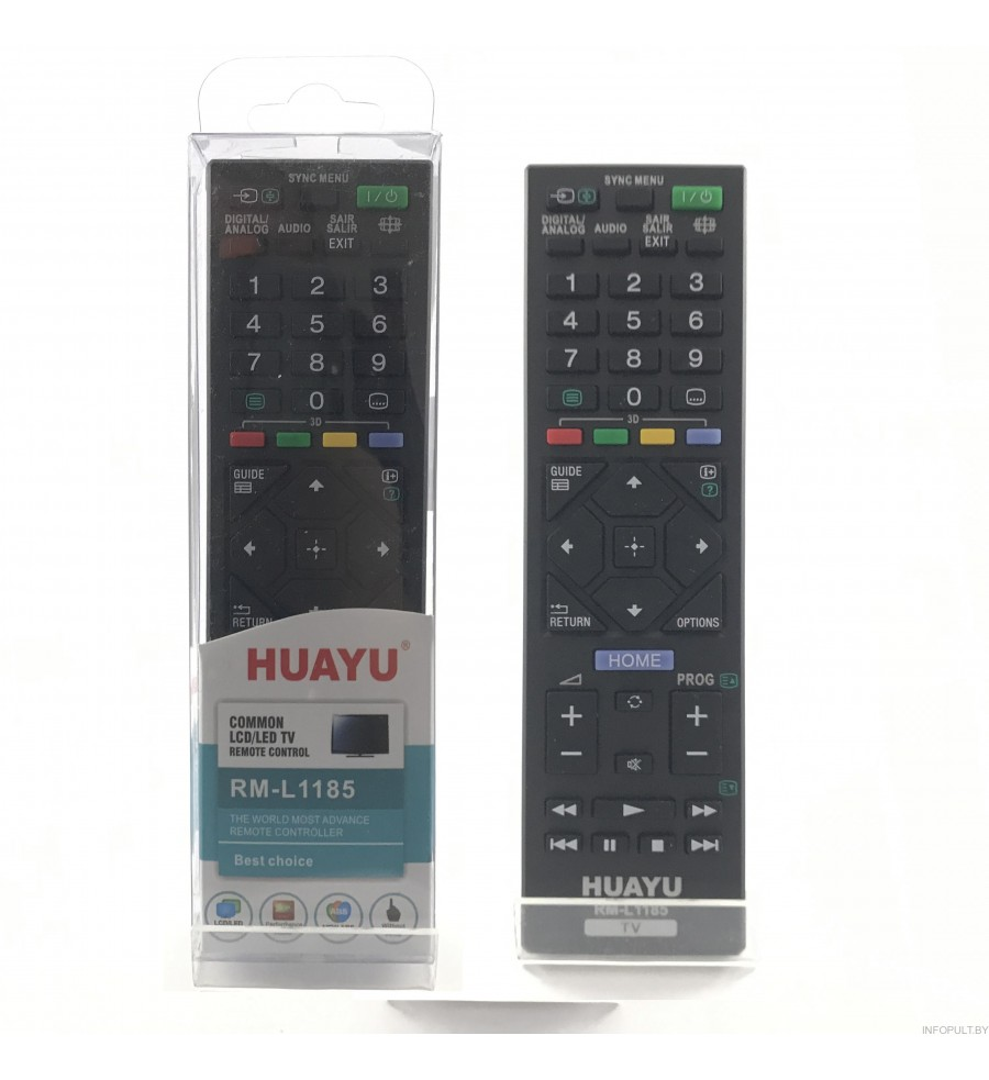Пульт Huayu RM-L1185 для телевизора Sony RM-L1185