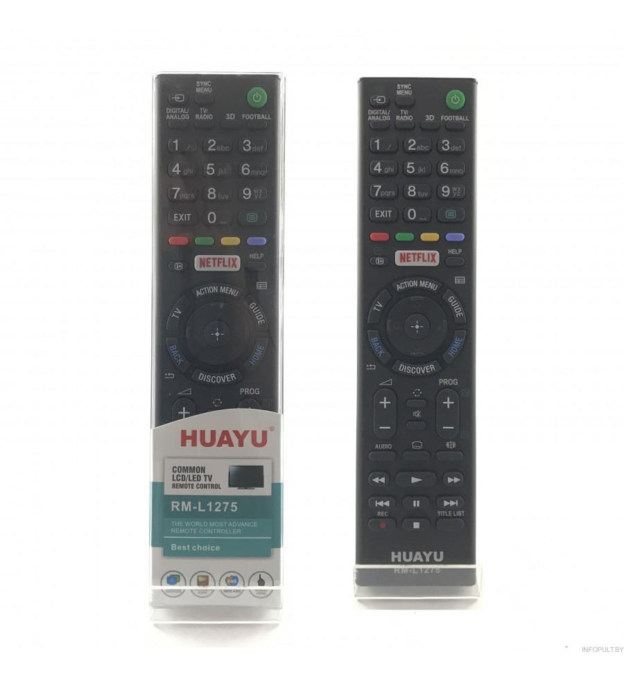 Пульт Huayu для Sony RM-L1275 корпус как RMT-TX101D