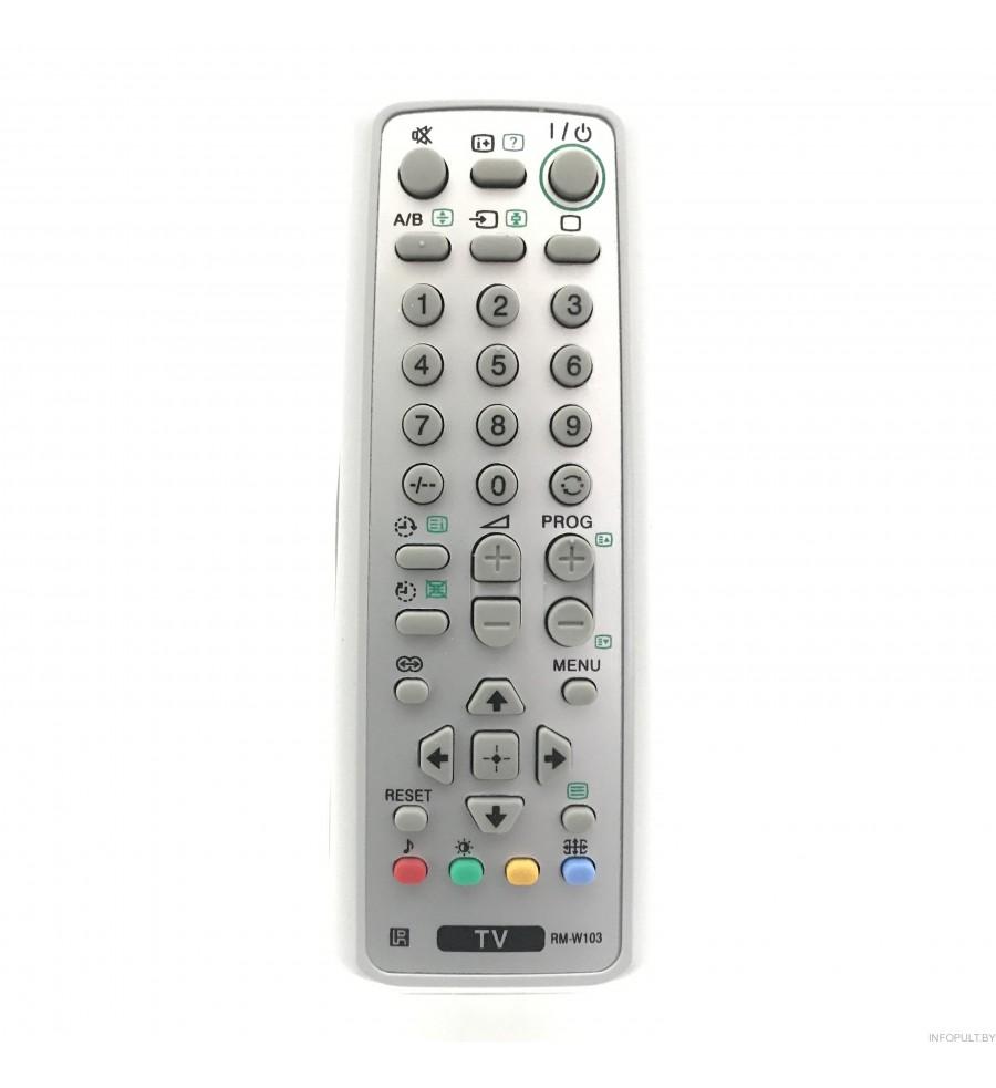Sony RM-W-103 TV