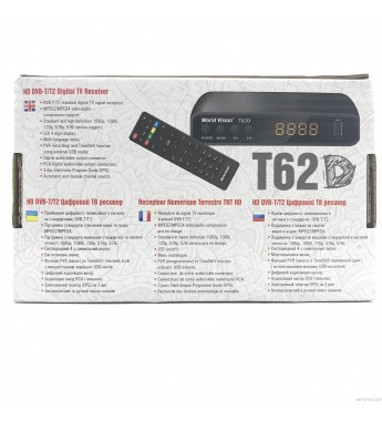 World Vision T62D ( HD DVB - T.T2 Digital TV Receiver )