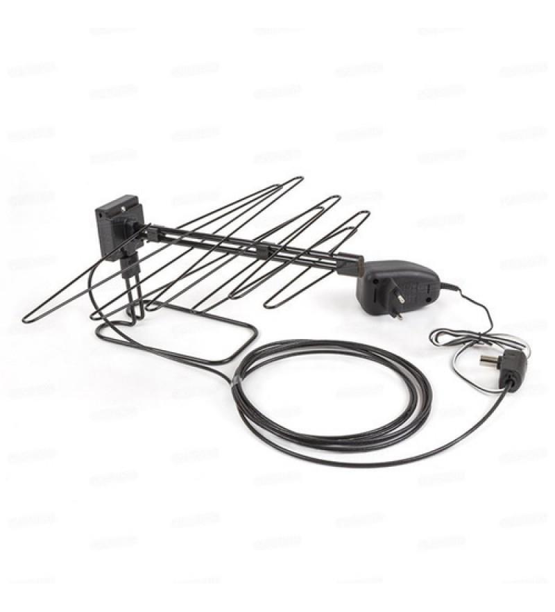 ТВ-Антенна комнатная Selenga 103A активная с питанием с усилителем DVB-T/T2 (1/10)