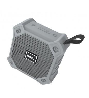 Портативная колонка HOCO BS34 bluetooth 5.0 microSD с микрофоном, серый