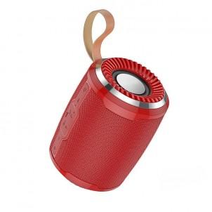 Портативная колонка HOCO BS39 bluetooth 5.0 microSD с микрофоном красный