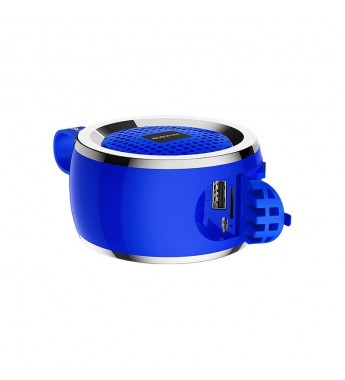 Портативная колонка Borofone BR2 bluetooth 5.0, синий