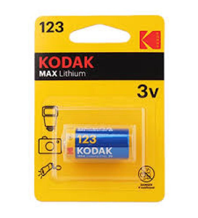 Батарейка Kodak MAX CR123A BL1 Lithium