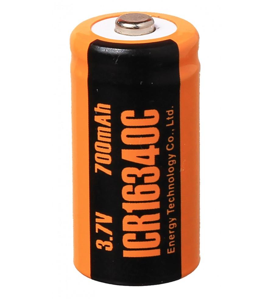Аккумулятор ET ICR16340C Li-Ion / 3,7 В / 700 мА·ч