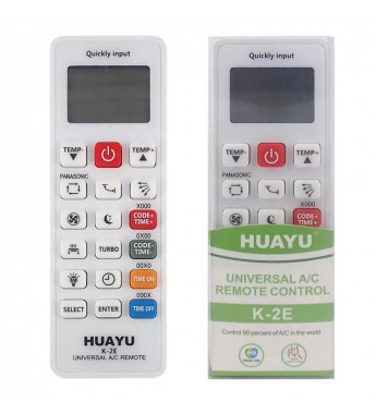 Пульт Huayu K-2E для кондиционеров Universal A/C Remote 5000 в 1