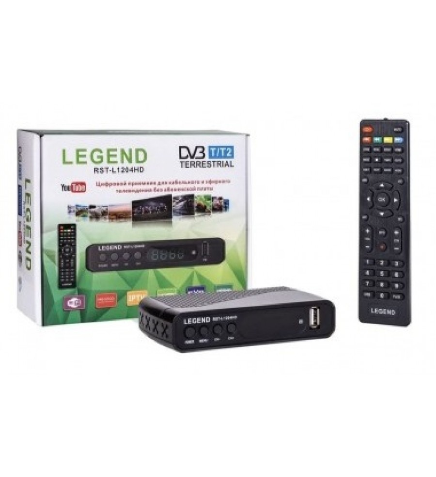 DVB-T2 ресивер LEGEND RST-B1204 HD