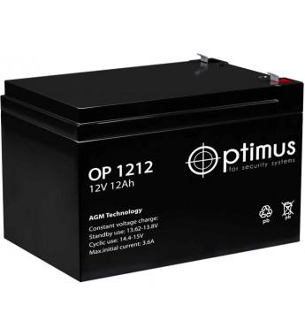 Аккумулятор свинцово-кислотный Optimus OP 1212 12V 12Ah