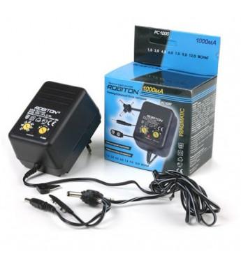 Адаптер/блок питания Robiton PC1000 1000мА