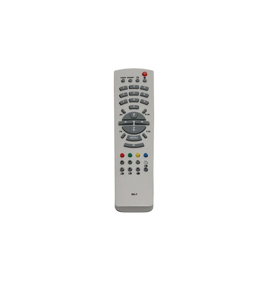 Пульт Рубин RC-7 белый [TV] с Т/Т