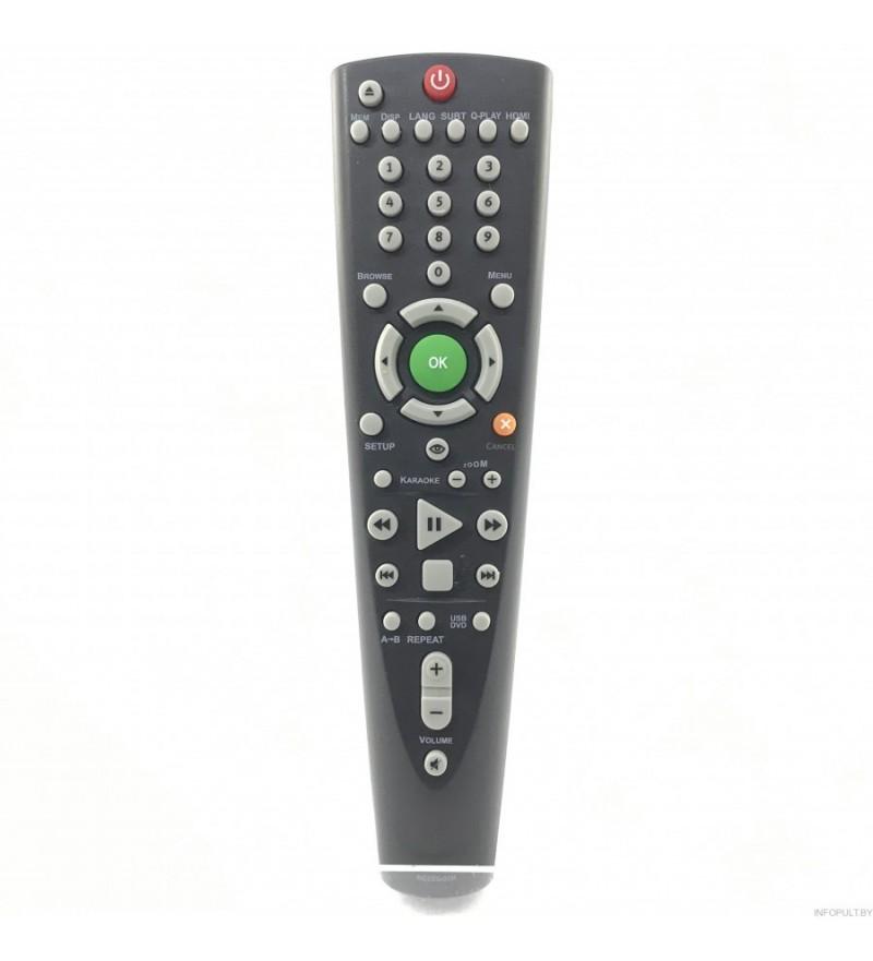 Пульт BBK RC026-05R DVDплеер+USB+караоке DV412SI,DV414SI orig