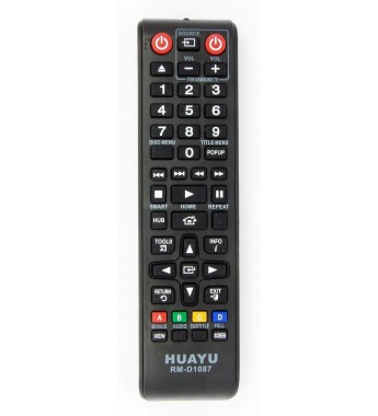 Пульт Huayu для Samsung RM-D1087 для DVD + BD + AUX