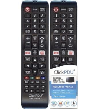 Пульт Huayu CLICKPDU RM-L1088 ver.2 new с функциями prime video , netflix, 3D, SMART HUB