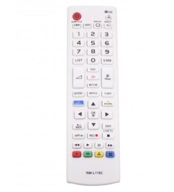 Пульт Huayu для LG RM-L1162W БЕЛЫЙ ! корпус AKB73715603 с функцией SMART