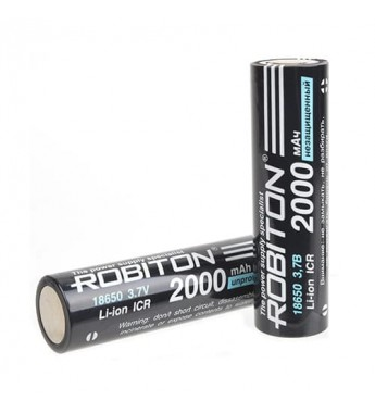Аккумулятор ROBITON LI18650-2000NP-PK1 без защиты