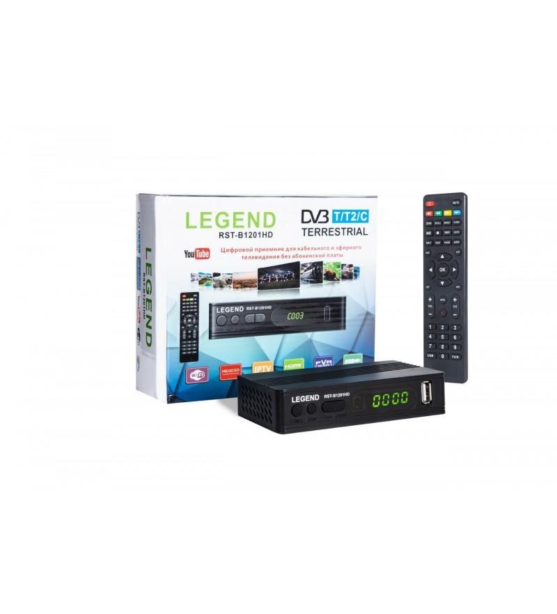 DVB-T2 ресивер LEGEND RST-B1201HD