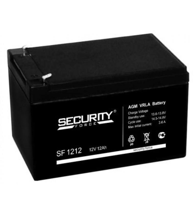 Аккумуляторная батарея SF 1212 Security Force