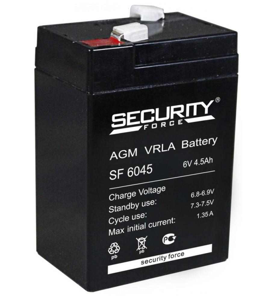 Аккумуляторная батарея SF 6045 Security Force