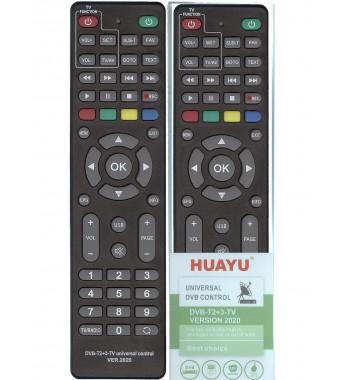 Пульт Huayu для приставок DVB-T2+TV+3 ver.2020