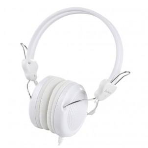 Наушники полноразмерные HOCO W5 с микрофоном, белый