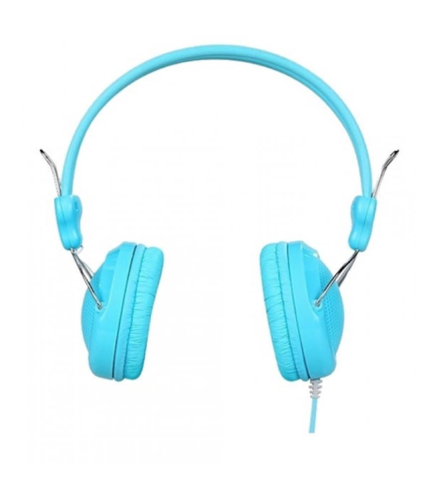Наушники полноразмерные HOCO W5 с микрофоном, синий
