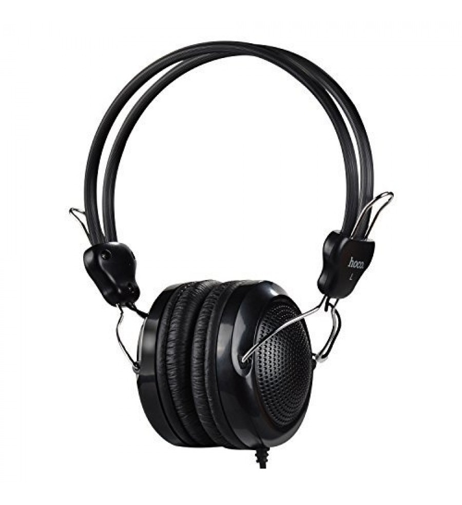 Наушники полноразмерные HOCO W5 с микрофоном, черный