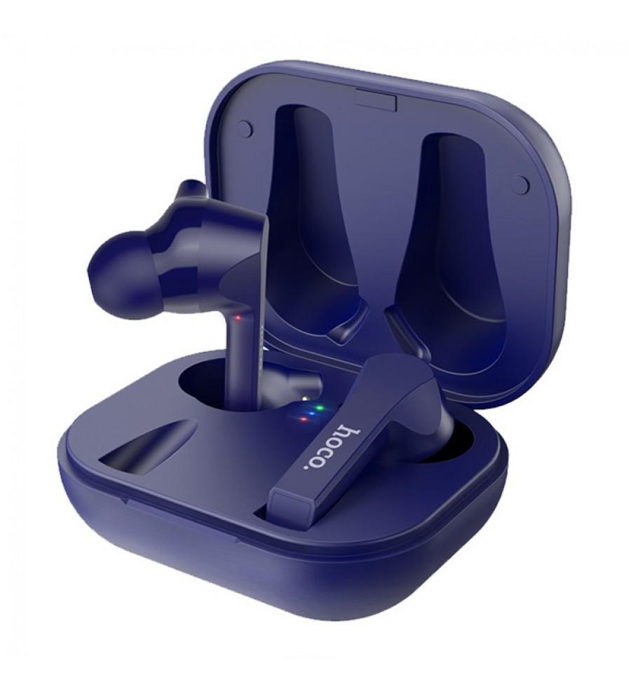 Наушники внутриканальные HOCO ES34 bluetooth 5.0 с микрофоном синий