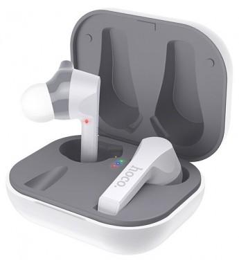 Наушники внутриканальные HOCO ES34 bluetooth 5.0 с микрофоном белый